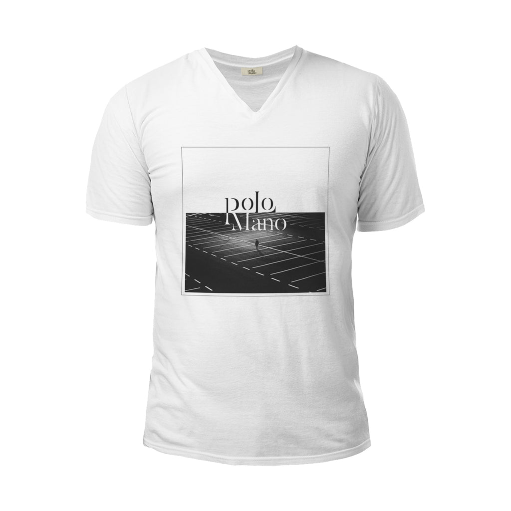 Perspective V-Neck T-Shirt