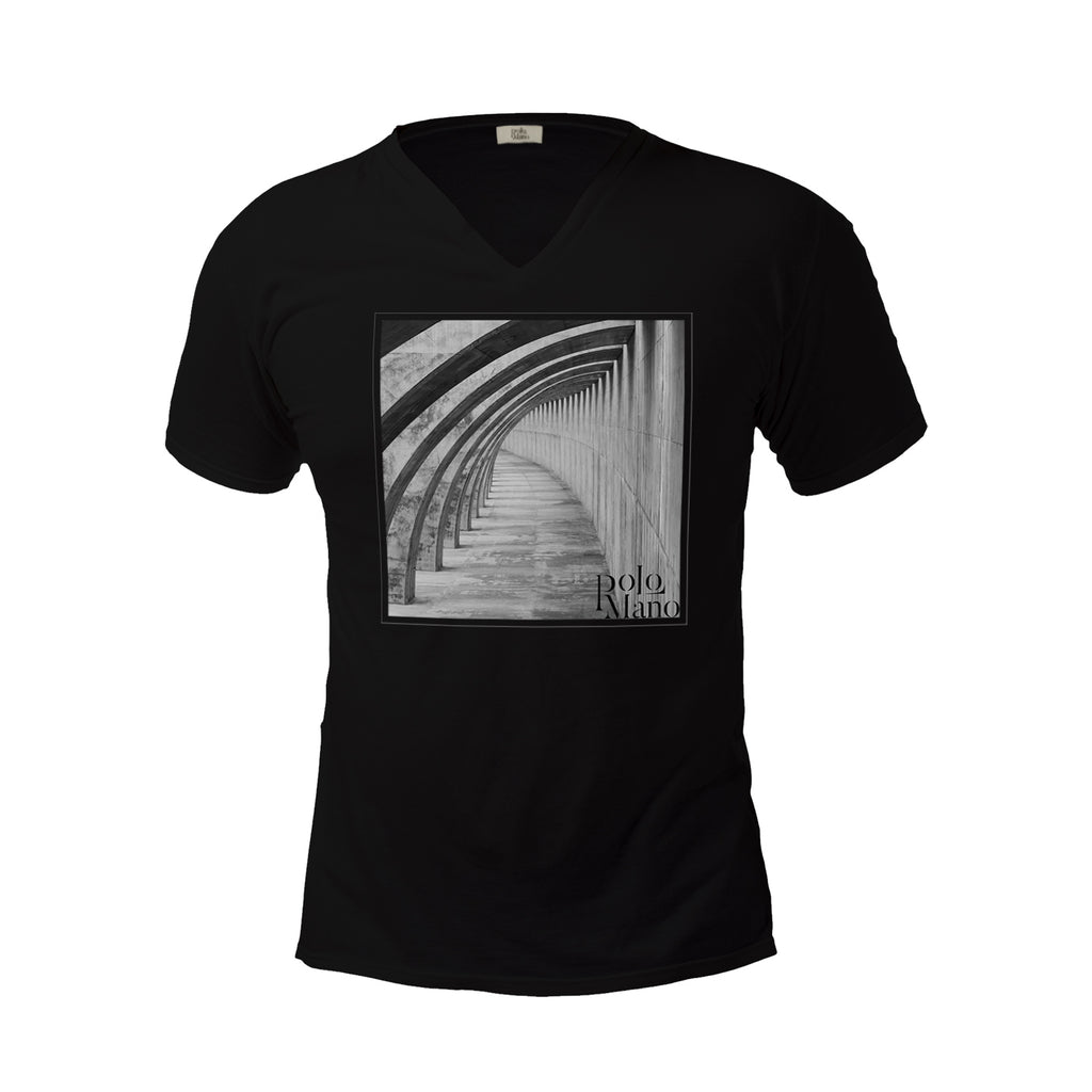 Arcs V-Neck T-Shirt