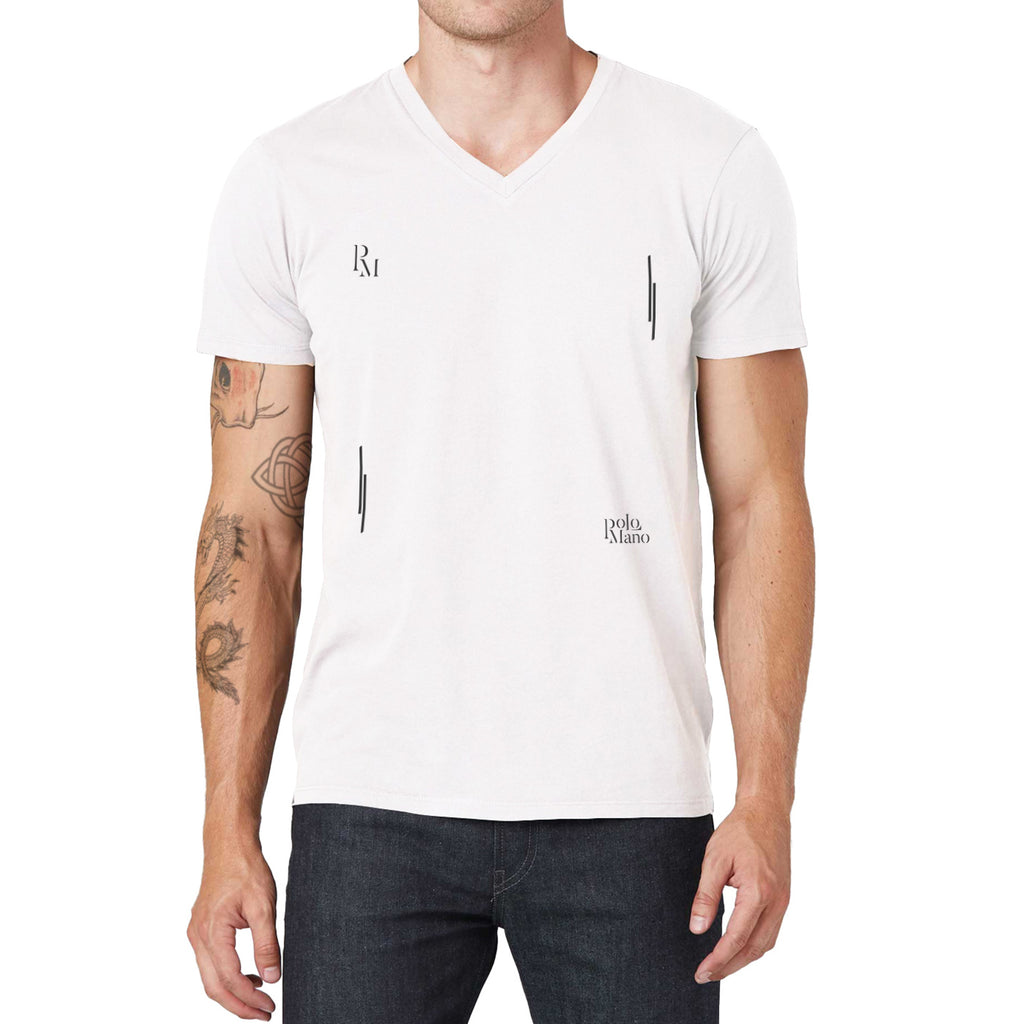 Polomano Square V-Neck T-Shirt