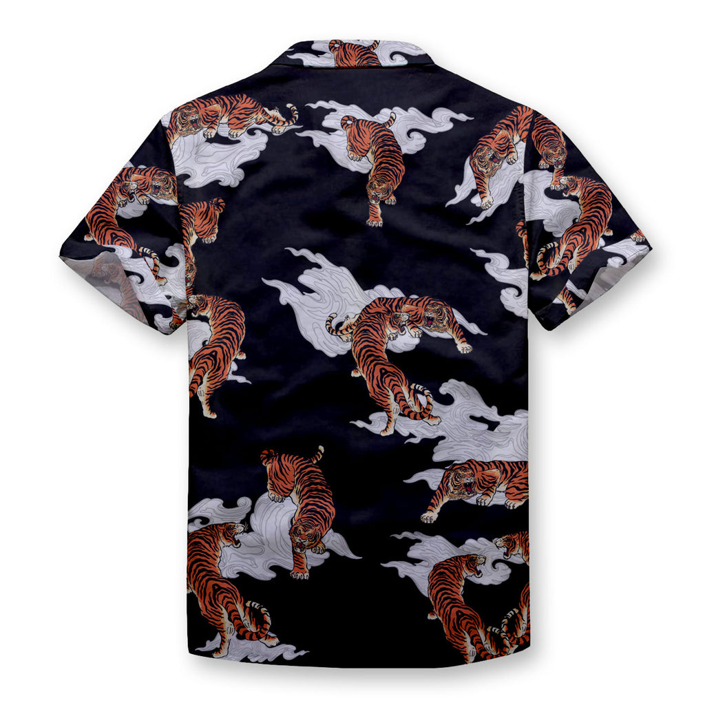 Tiger's Heaven Button Shirt