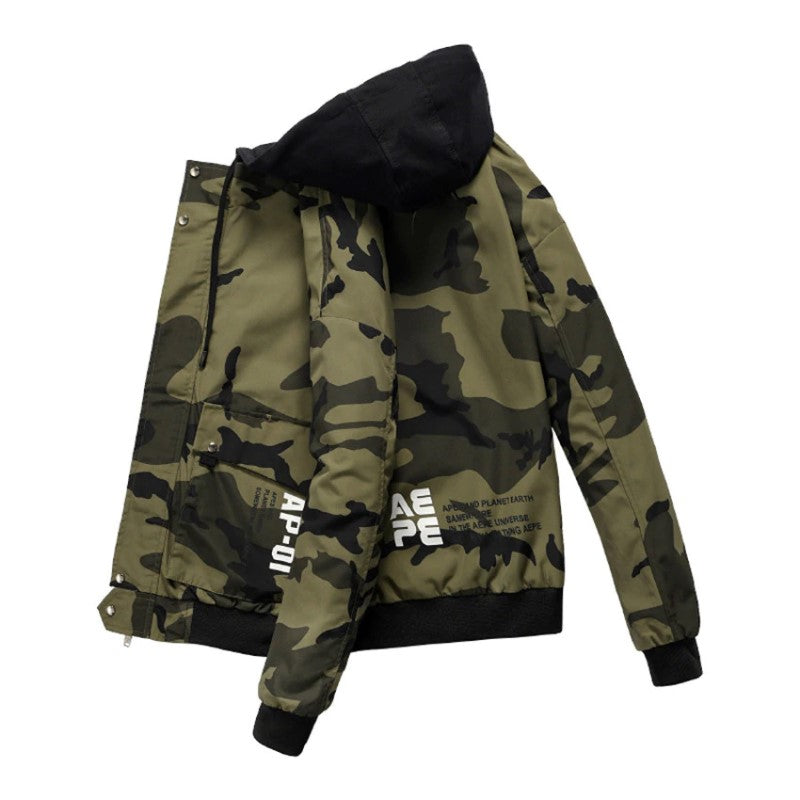 Hooded Fashion Jacket