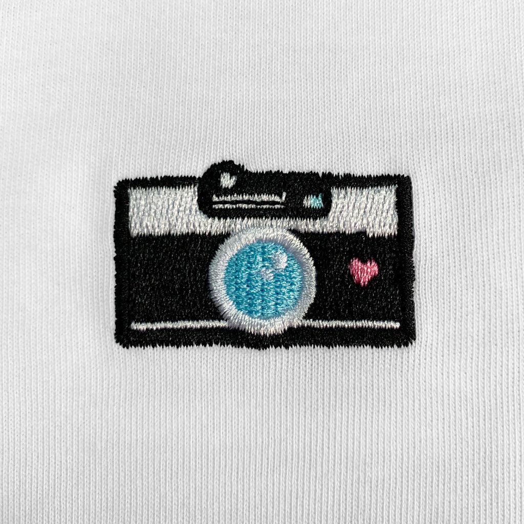 Camera Embroidered T-Shirt