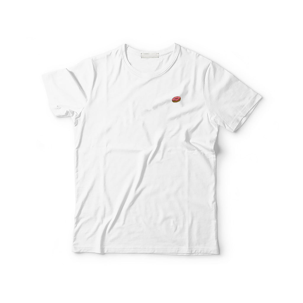 Donuts Embroidered T-Shirt