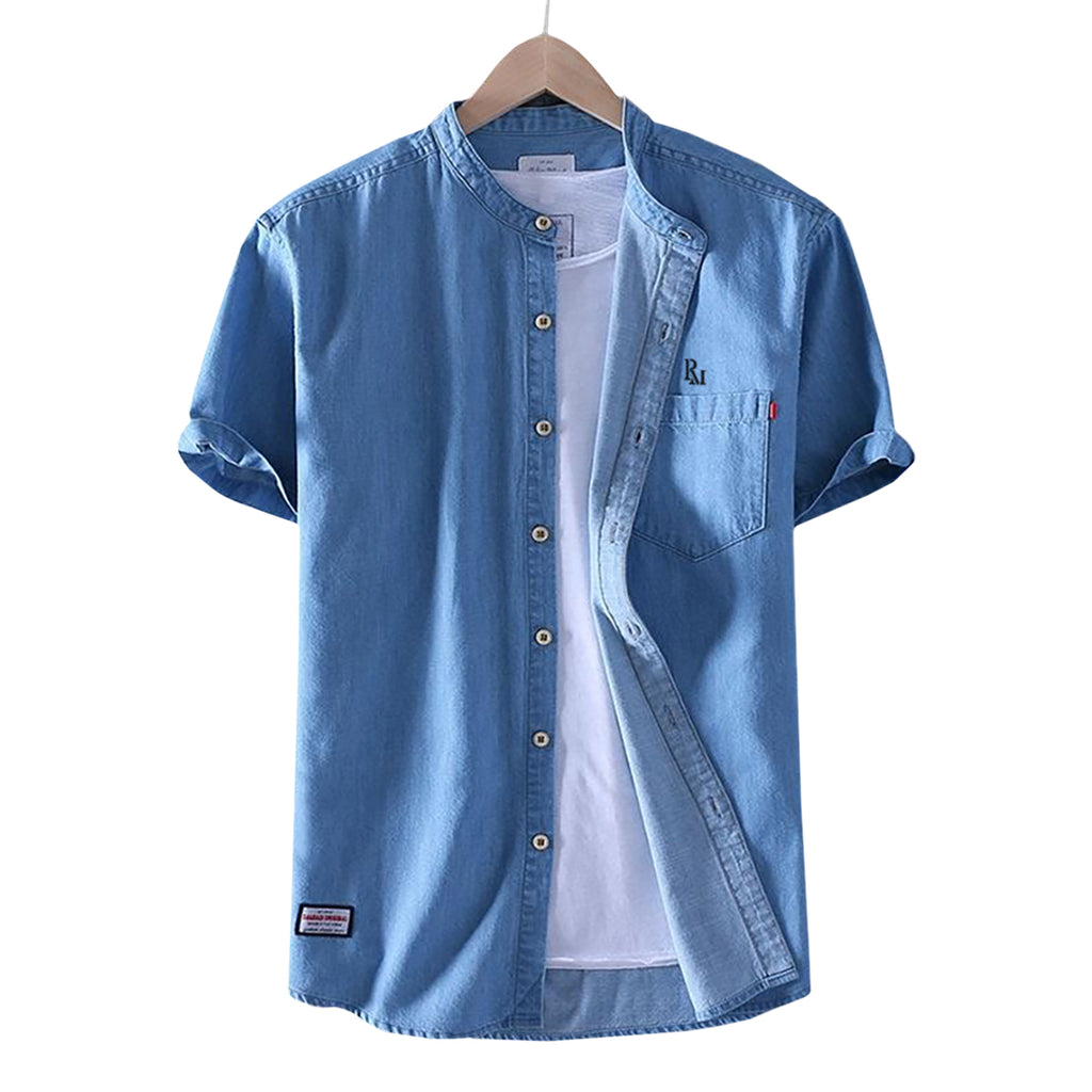 Cardenas Embroidered Button-Down Shirt