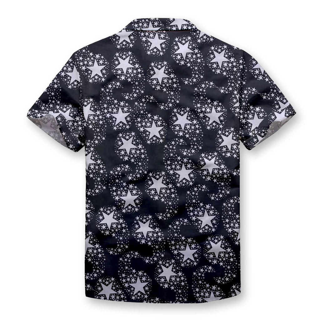 Comet Pattern Button Shirt