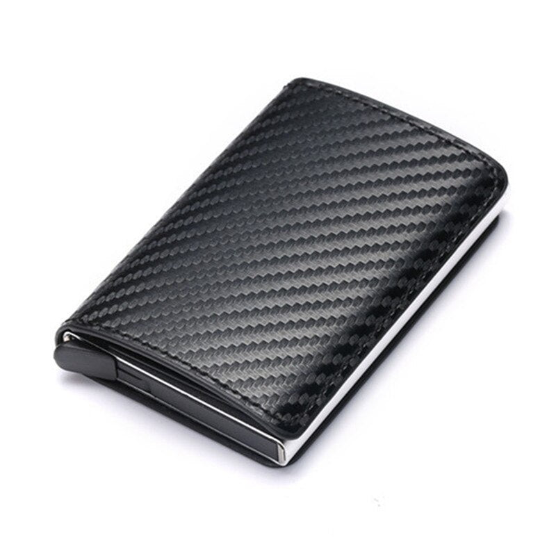 Carbon Credit Card Holder Wallet