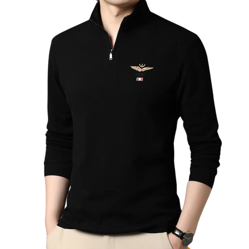 Long Sleeved Luxury Collar Shirt