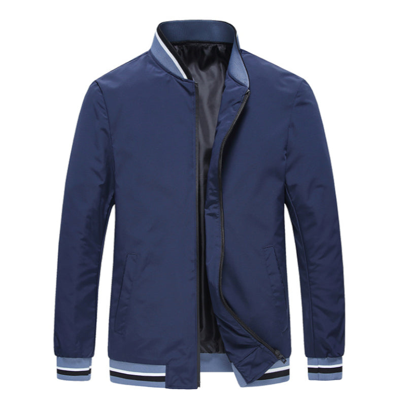 Collar Baseball Jacket