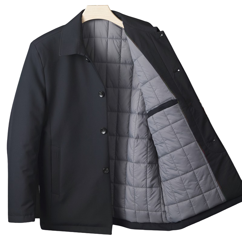 Buttoned Thickened Jacket