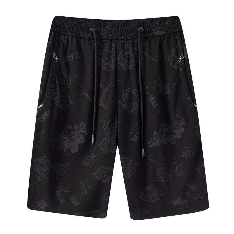 Tiger Patterned Shorts