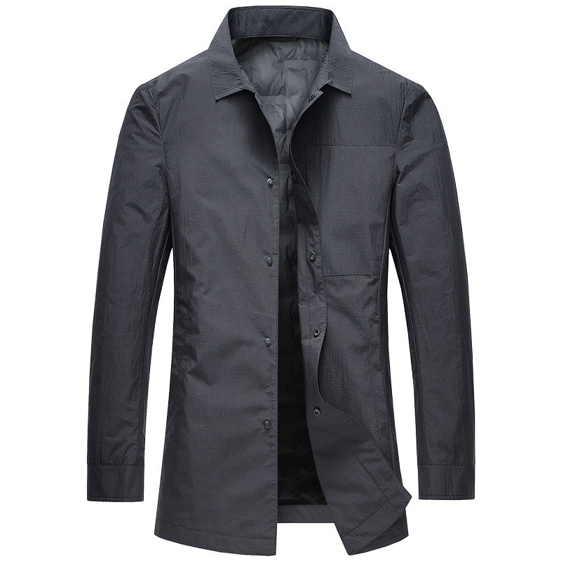 Padded Button Coat