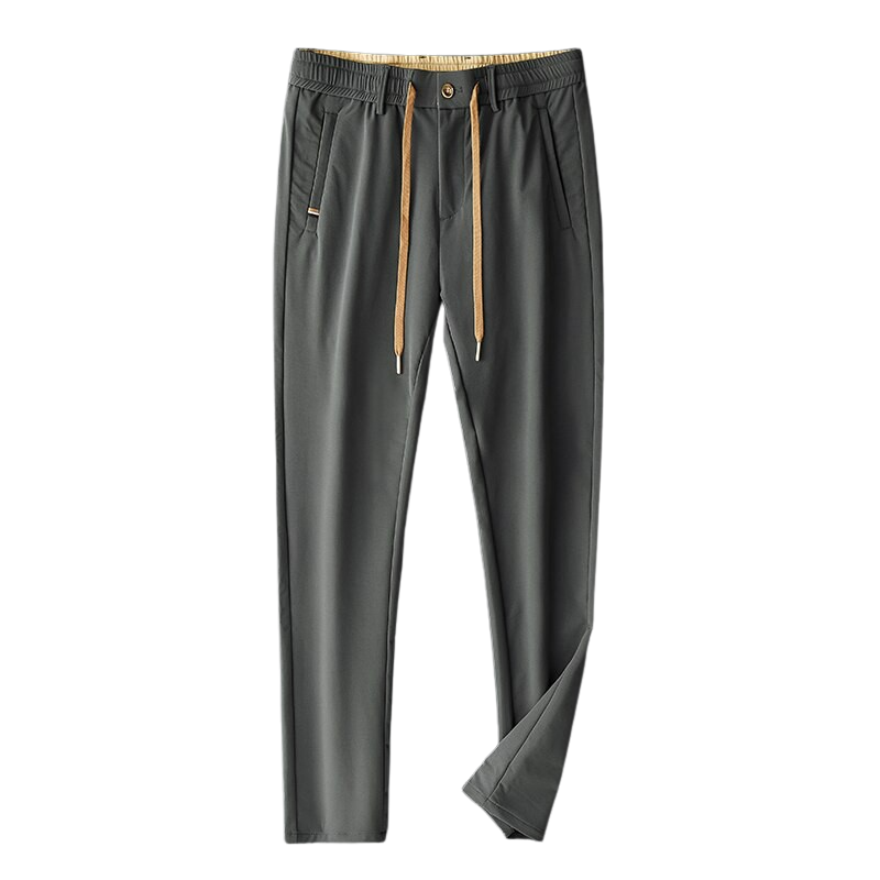 Leisure Elastic Waist Pants