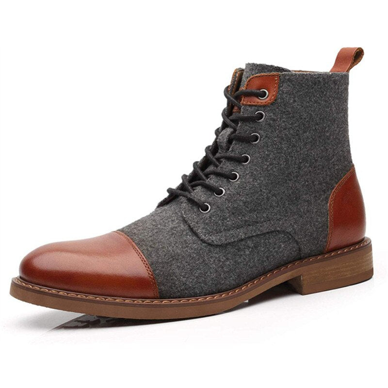 Elegant High-Top Boots