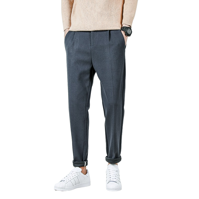 Casual Straight Slim Pants