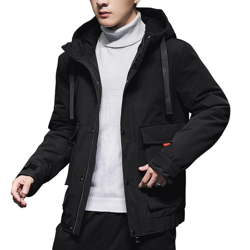 Outdoor Hooded Zipper Coat