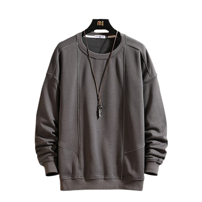 Thick O-Neck Sweatshirt