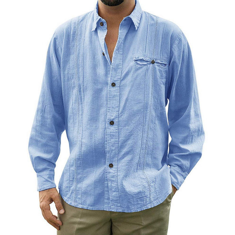 Light Casual Button-Down Shirt