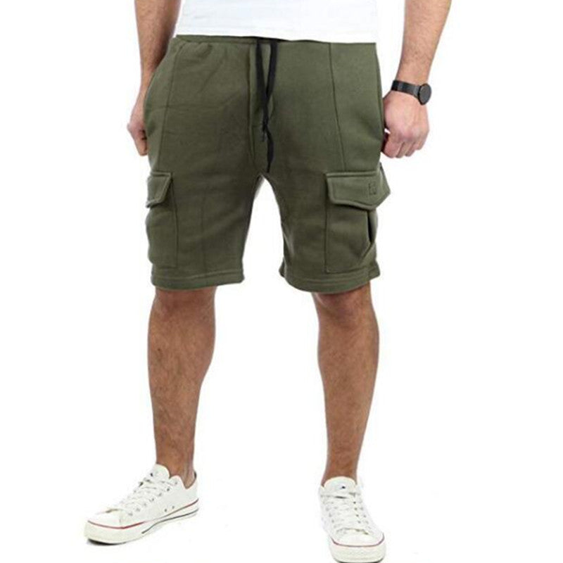 Casual Fit Drawstring Shorts