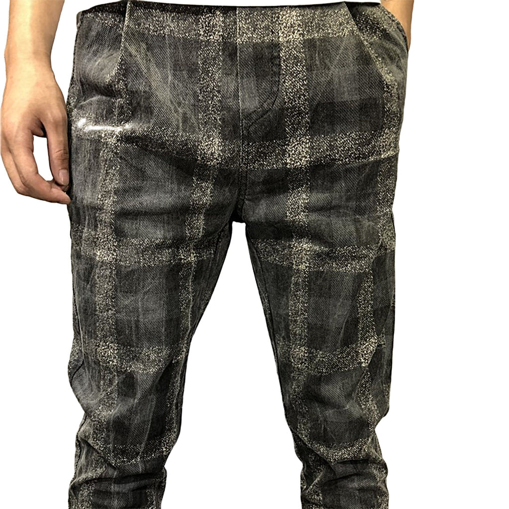 Arturo Casual Plaid Pants