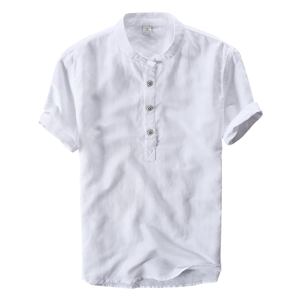 Breathable Buttoned T-Shirt