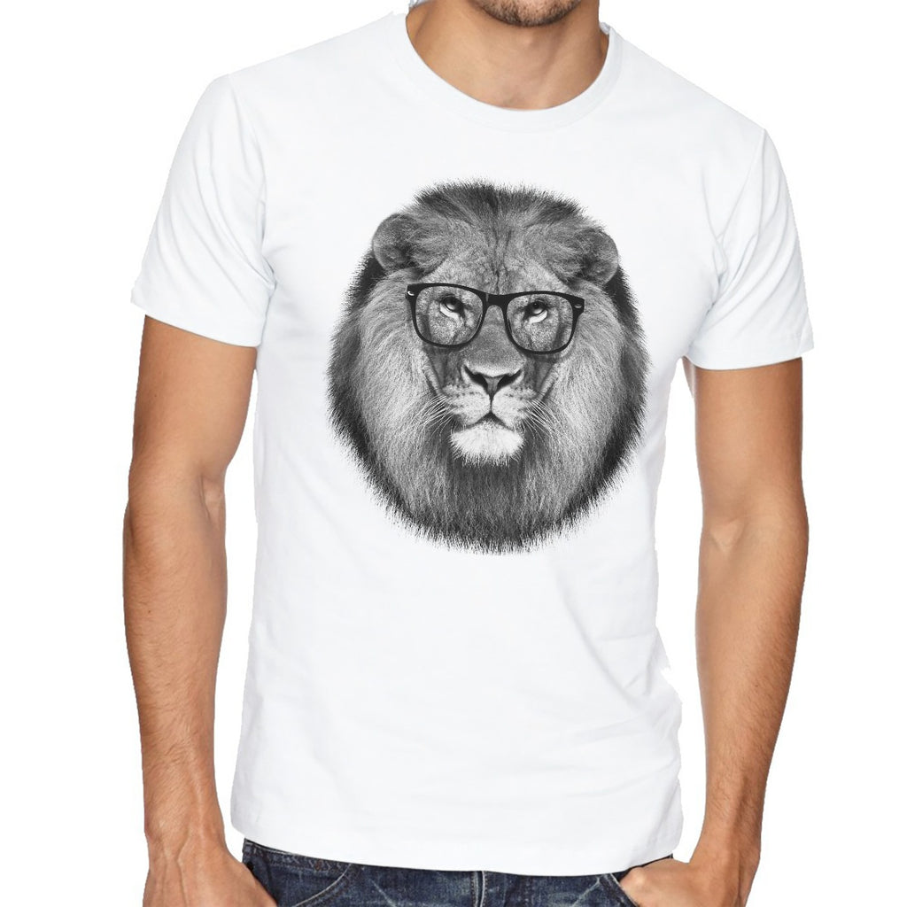 Classic Glasses Lion T-Shirt