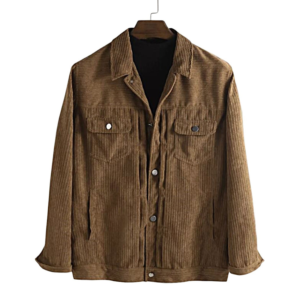 Solid Corduroy Jacket