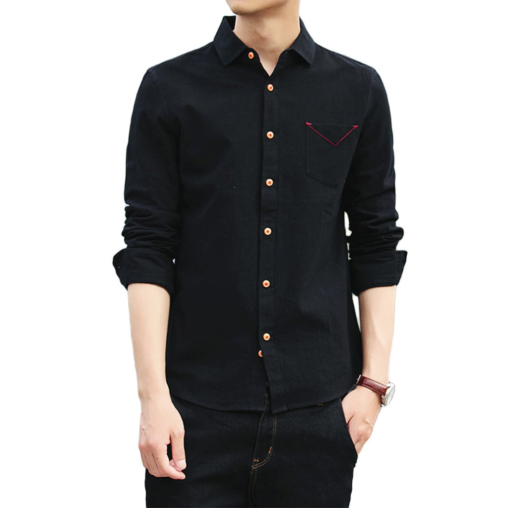 Simple Long Sleeve Shirt