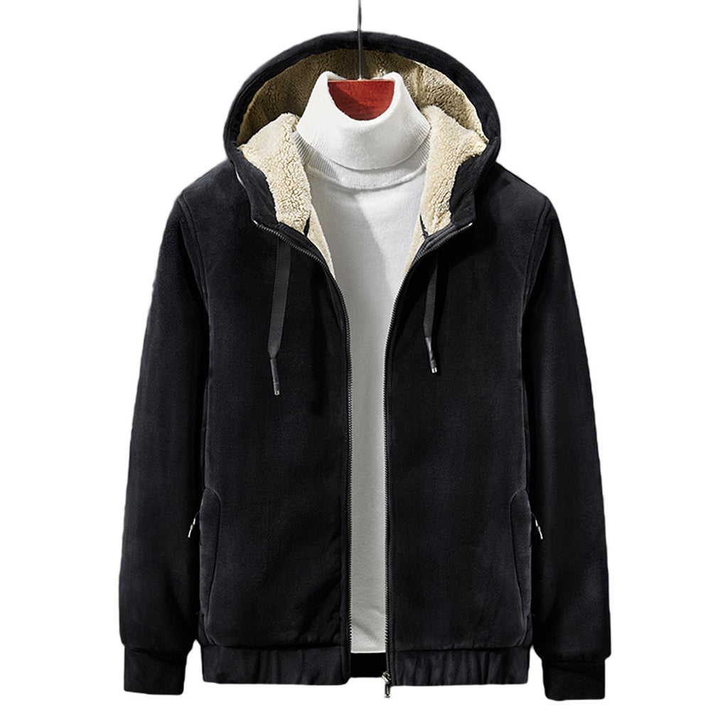 Reversible Warm Hooded Jacket
