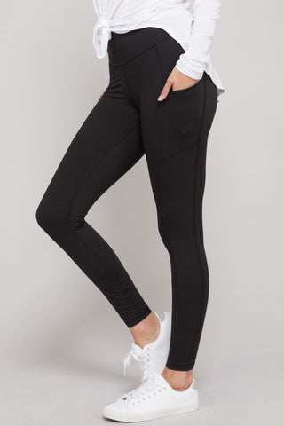 On The Go Black Leggings