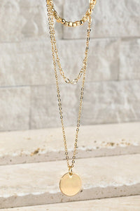 My Layered Charm Necklace in Gold