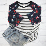 Load image into Gallery viewer, The Fall Floral Top