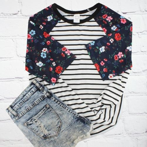 The Fall Floral Top