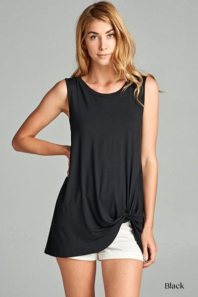 The Go-To Tank in Black