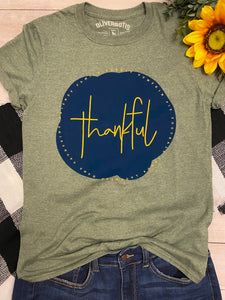 Thankful Tee in Olive
