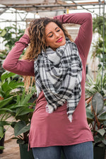 Load image into Gallery viewer, Plaid Blanket Scarf - Multiple Colors