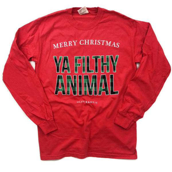 Filthy Animal Long Sleeve Tee