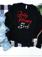 Load image into Gallery viewer, Jolly Happy Soul Christmas Sweatshirt