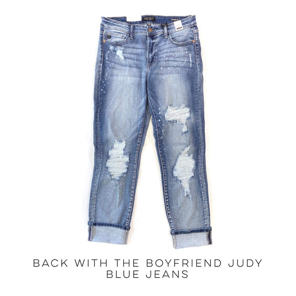 Back with the Boyfriend Judy Blue Jeans
