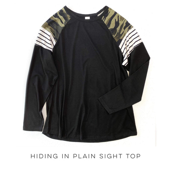 Hiding in Plain Sight Top