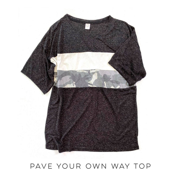 Pave Your Own Way Top