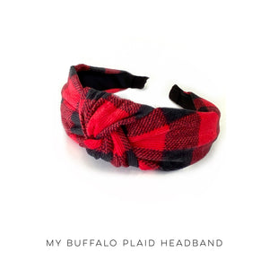 Buffalo Plaid Headband