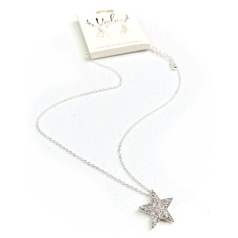 You're a Star Necklace in Silver