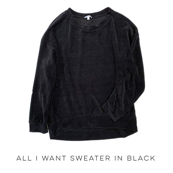 All I Want Sweater in Black