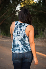 Load image into Gallery viewer, Tie Dye Racer Back Tank