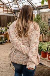 Hello Autumn Speckled Sweater