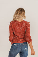 Load image into Gallery viewer, Rust - Knit Pompom Sweater