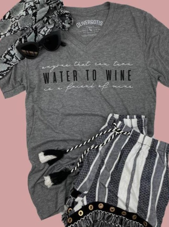 Water to Wine Tee