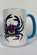 Load image into Gallery viewer, Blue crab mug