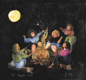 Campfire Girls Greeting Card