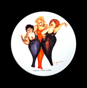 Martini-Themed Wild Women Coasters